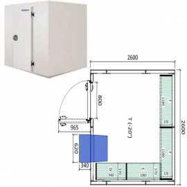 Camara congelador conservacion INPACKCAMARA18-C