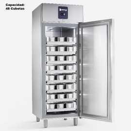 Congelador para helados Bandejas Inox