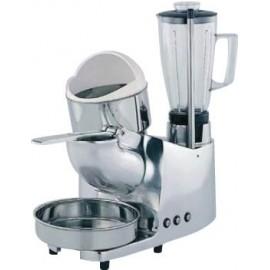 Robot multifuncion 3 servicios: triturador de hielo, exprimidor y batidora de vaso ASGMC3