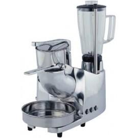 Robot multifuncion 3 servicios: triturador de hielo, exprimidor de palanca y batidora de vaso ASGMC4