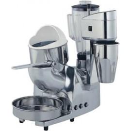 Grupo multiple de 3 servicios: triturador de hielo, exprimidor de palanca y batidora, modelo. ASGMC.4