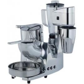 Robot multifuncion de cuatro servicios: triturador hielo, exprimidor palanca,2 batidora vaso y brazo. ASGMC.6.