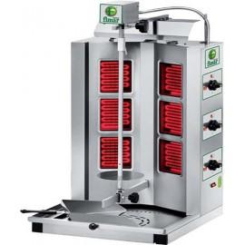 Maquina asador de gyros electrico de SEIS resistencias ASGYRO.1