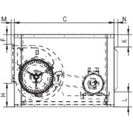 Caja extraccion AMTR-transmision.