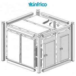 Camara modular fresco-frio INCM (80 mm) Altura 2340 cm