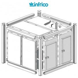 Camara modular fresco-frio INCM (80 mm) Altura 254 cm