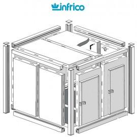 Camara modular fresco-frio INCM (100 mm) Altura 214 cm
