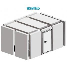 Camara modular congelación INPOLAR (100 mm) Altura 194 cm