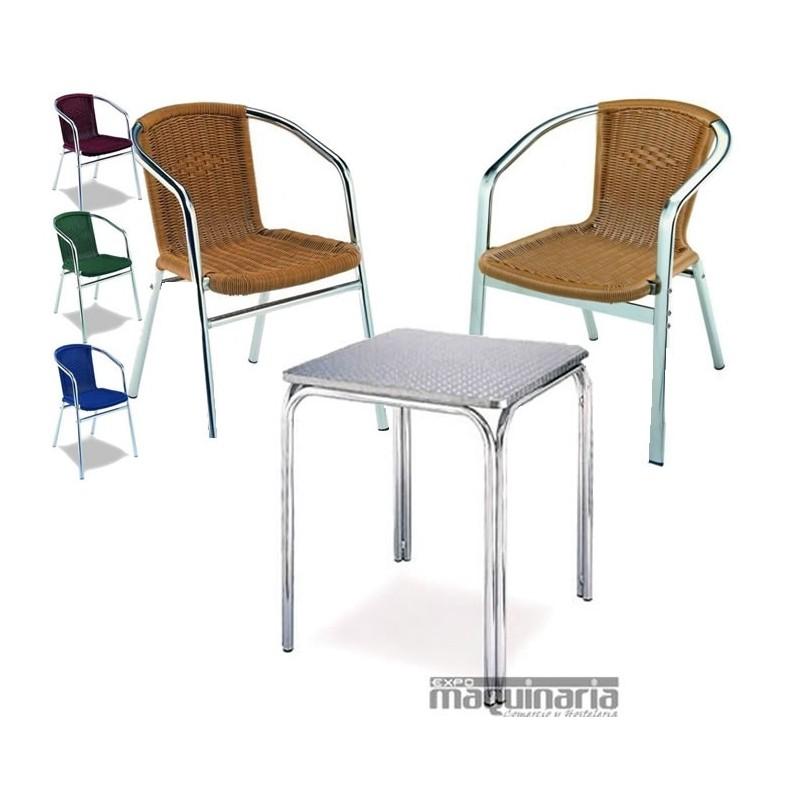 Mesa y sillones para terraza medula4 conjunto 4sillones 1mesa for Conjunto para terraza