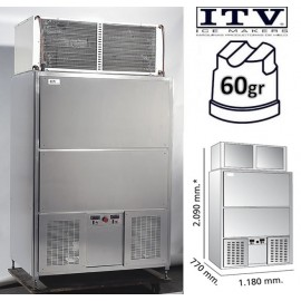 Maquina de Hielo ITV PULSARMP401 cubito 60g