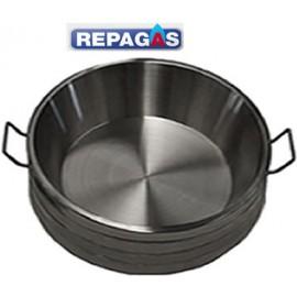 Sarten o cazuela churrera profesional ST14 REPAGAS.