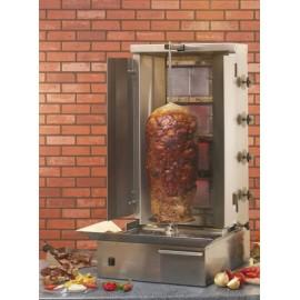Maquina asador gyros/kebab a gas RO GR80G