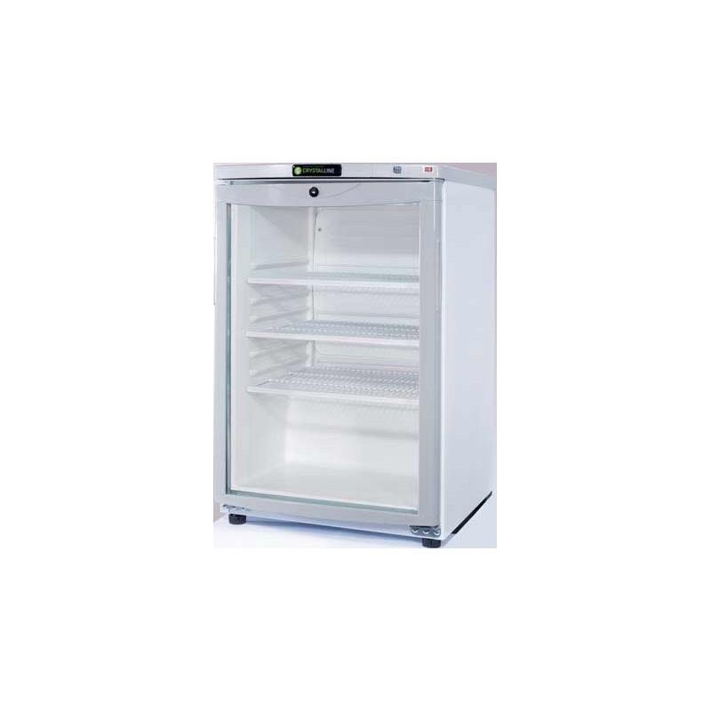 Refrigerador peque o con puerta de cristal clmar85pv for Neveras pequenas oficina