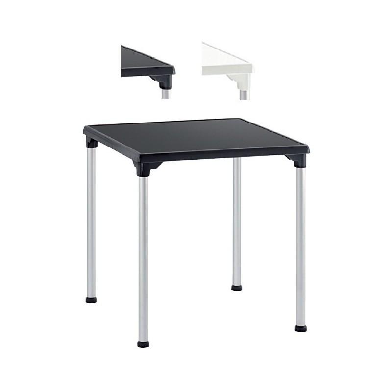 mesa de exterior para terraza isdorian personalizable 70x70