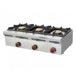 Cocina a gás MHECO-ELE93G de 50cm de fondo