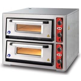 Horno para Pizza GMGPF6262DE-4+4pizzas