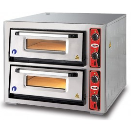 Horno para Pizza GMGPF7070DE-4+4pizzas
