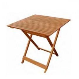 Mesas plegables mesa plegable para hosteler a catering y for Mesa 70x70 madera
