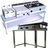 Mesa de trabajo inoxidable cocina industrial - Mesa acero inoxidable ...