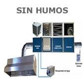 Campana extractora industriale para la hosteleria - Extractor sin salida ...