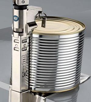 Abrelatas Industrial - Como poner la lata
