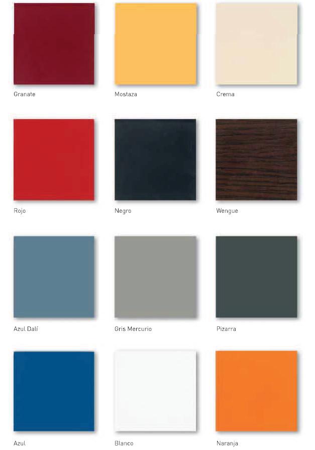 Colores Asientos Compacto