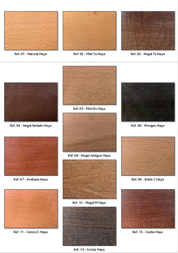 Litera hosteleria 8t403 de madera de pino - Color nogal en madera ...