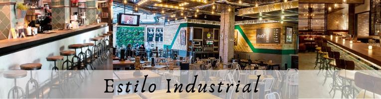 Mobiliario de Hostelería estilo industrial
