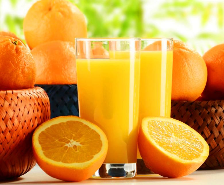 Exprimidor de jugo de naranja manual