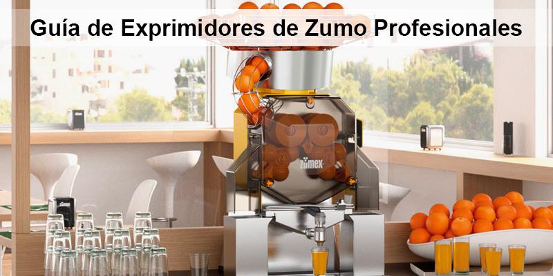 Guía de exprimidor de naranjas profesional