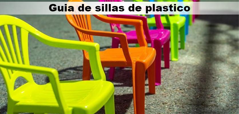 Guia de sillas de plastico