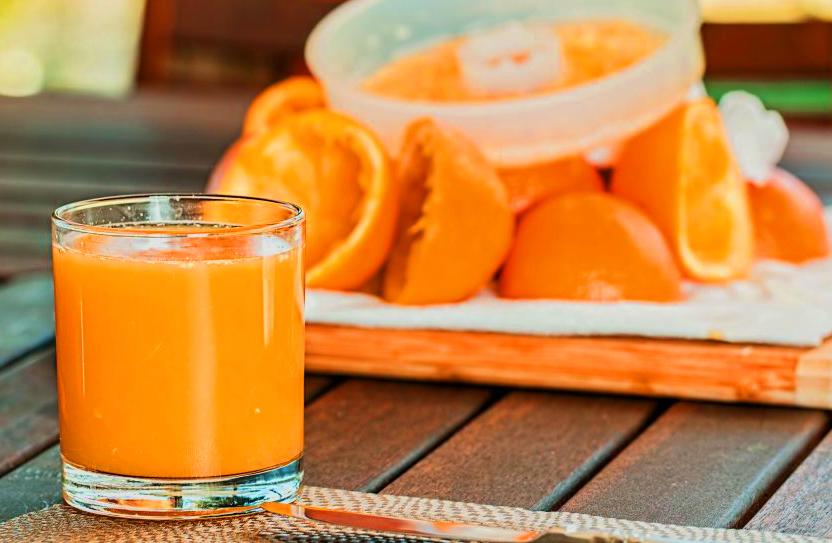 Zumo de naranja maquina