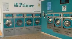 Miniatura lavanderia autoservicio