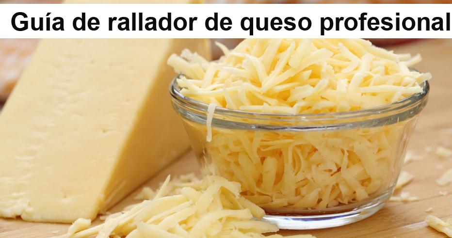 Guía de rallador de queso profesional