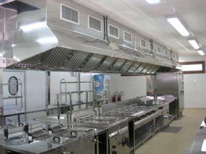 Instalaciones de gas en cocinas industriales consejos for Cocina industrial medidas