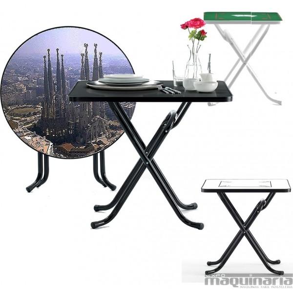 Mesas de hosteler a personalizadas impresion digital for Mesas plegables hosteleria