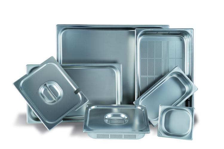 Cubetas gastronorm medidas cubetas gastronom for Cubetas de acero inoxidable
