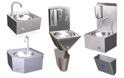 Lavamanos de acero inoxidable para hosteler a for Lavamanos sin instalacion